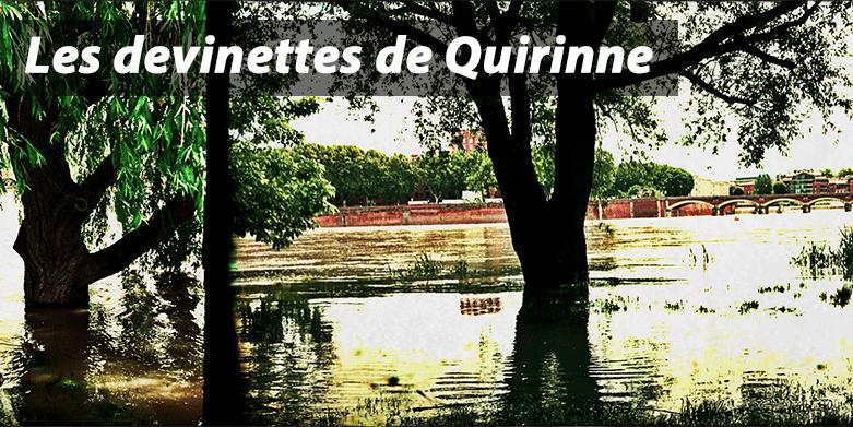Devinette Quirinne