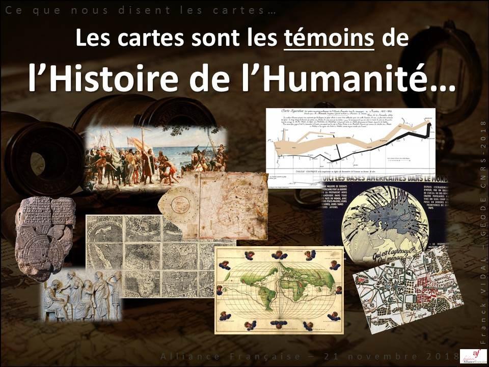 Les témoins de l'histoire de l'humanité