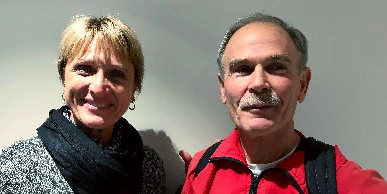 Oliver Butterfield et Nathalie Spanghero-Gaillard